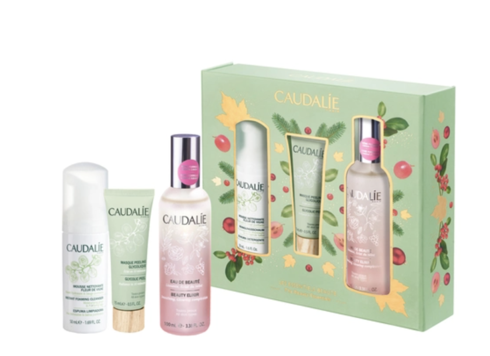 "Caudalie Beauty Elixir ""The Beauty Essentials"" Skincare Set. (PHOTO: Sephora)"