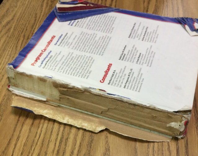 Oklahoma textbooks are lacking relevant information. (Photo: Twitter/jamiebh73)