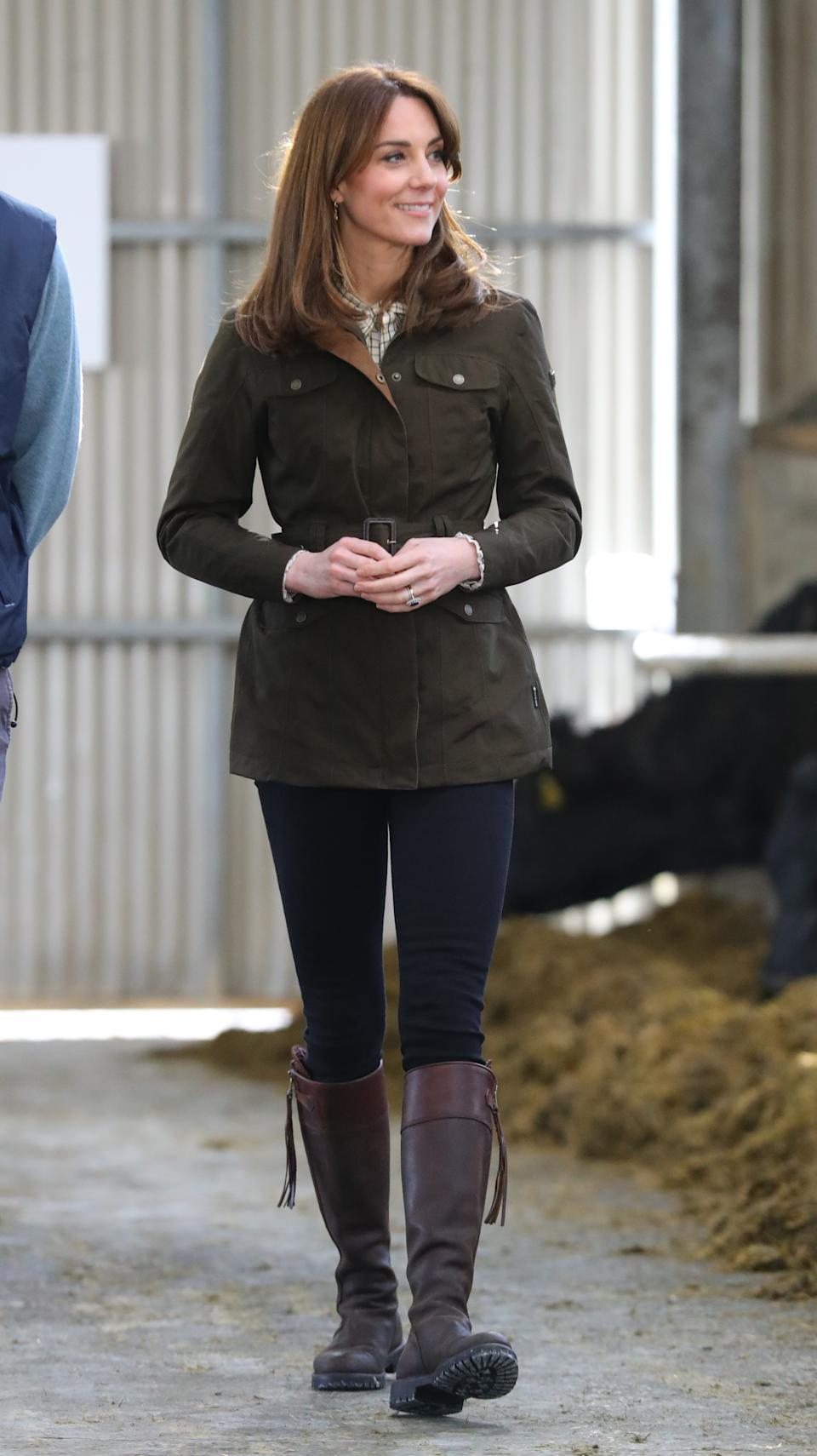 The Duchess of Cambridge visited the Teagasc Animal & Grassland Research Centre on Wednesday. (PA Images)