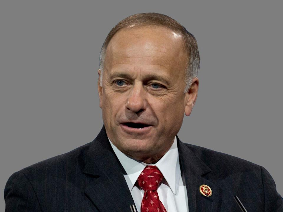 Rep. Steve King (R-Iowa) was invited to attenda fundraiser for the Iowa Republican Party Tuesday evening. (Photo: ASSOCIATED PRESS)