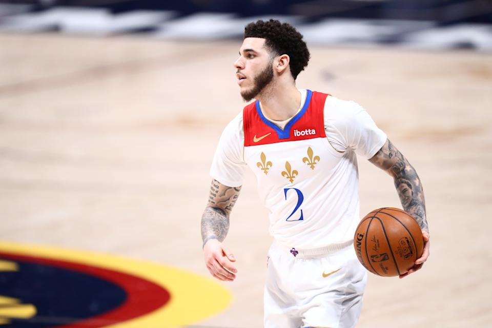 Former No. 2 overall pick Lonzo Ball showed significant improvement over his first two seasons with the New Orleans Pelicans. (C. Morgan Engel/Getty Images)