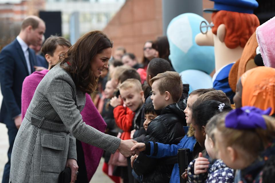 <p>If you're lucky, Kate Middleton might bestow you with a royal wave, hug or a high five — but according to the Express, the Duchess of Cambridge has been banned from signing autographs due to the risk of signature forgery. The rule also applies to almost every senior member of the British royal family, including Queen Elizabeth II, Prince Charles, Prince William and Prince Harry.</p>