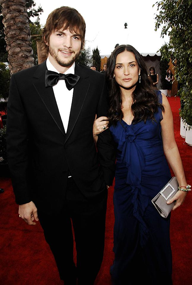 "<a href=""/ashton-kutcher/contributor/32467"">Ashton Kutcher</a> and <a href=""/demi-moore/contributor/28749"">Demi Moore</a> at the <a href=""/2007-screen-actors-guild-awards/show/40550"">13th Annual Screen Actors Guild Awards</a>."