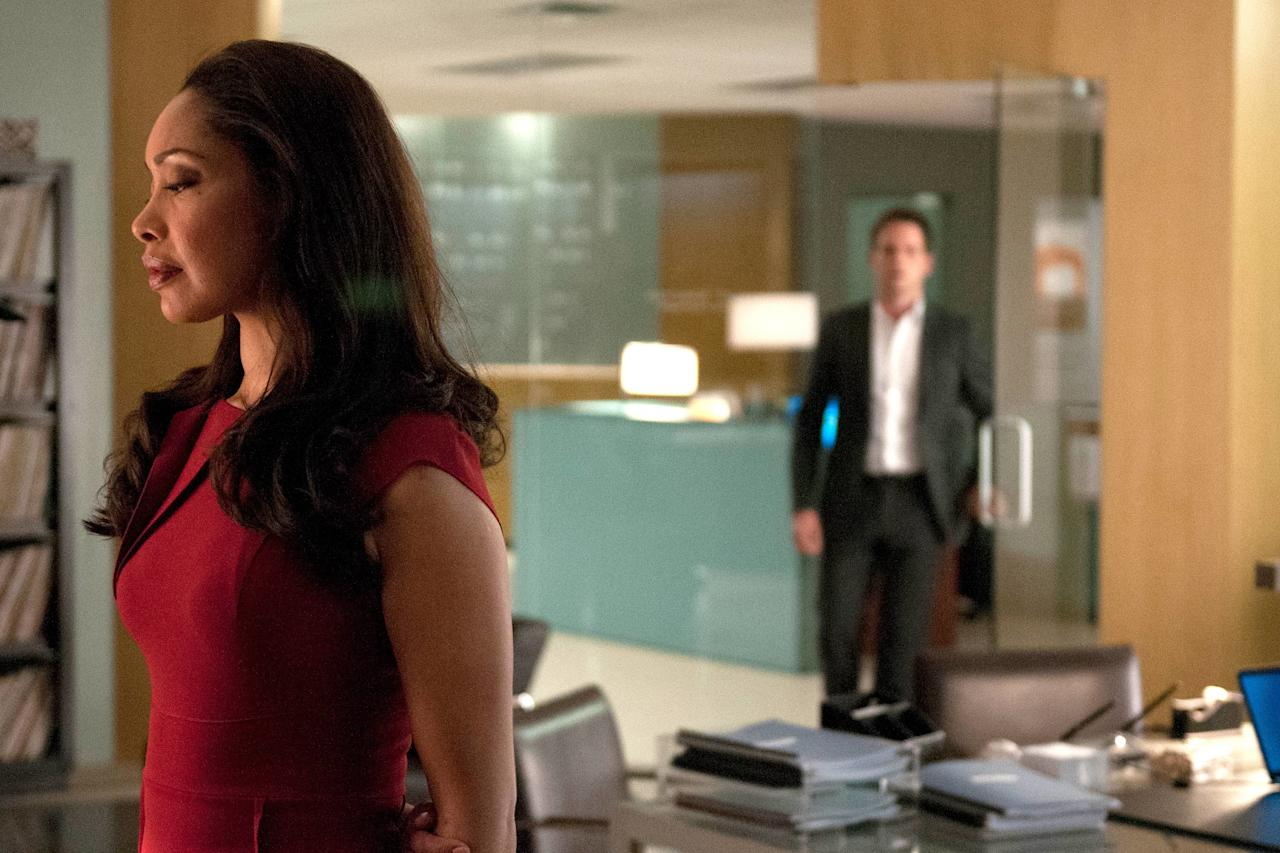 Season 2 remains<em>Suits</em>' strongest run, and it all began with the premiere episode, which tackled two things: Jessica Pearson (Gina Torres) learning Mike's (Patrick J. Adams) secret, and the return of ousted named partner Daniel Hardman (David Costabile), the show's best villain.