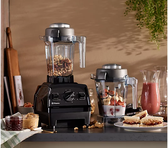 Some might say here that you'll go nuts over your new Vitamix Explorian. But not us. Oh, no, not us.(Photo: QVC)
