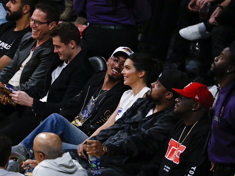 Kendall Jenner lakers game