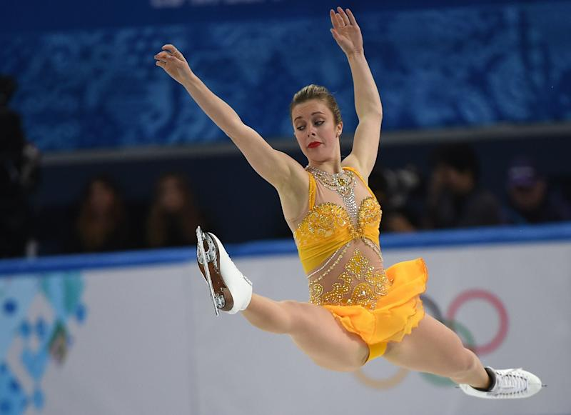 Ashley Wagner of the United States performs in the Women's Figure Skating Free Program on Feb. 20, 2014.