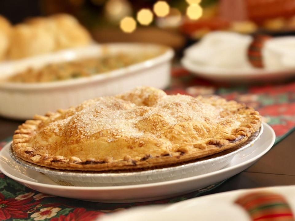 "<p>As big traditionalists, Rhode Islanders will unfailingly turn to a homemade apple pie. You could argue that makes them the most iconic dessert makers of all. </p><p>Get the <a href=""https://www.delish.com/cooking/recipe-ideas/recipes/a55693/best-homemade-apple-pie-recipe-from-scratch/"" rel=""nofollow noopener"" target=""_blank"" data-ylk=""slk:recipe"" class=""link rapid-noclick-resp"">recipe</a>.</p>"