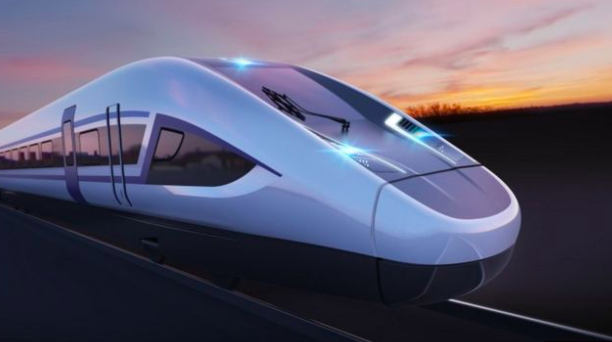 Mired in controversy: The proposed design of the HS2. (PA)