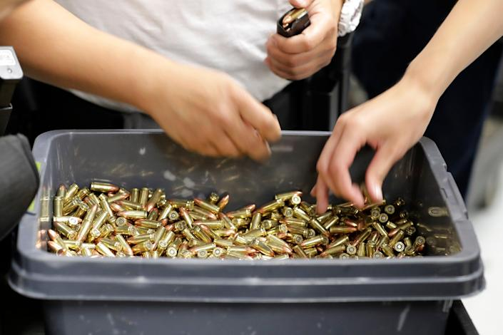Ammunition Shortage (Copyright 2019 The Associated Press. All rights reserved.)
