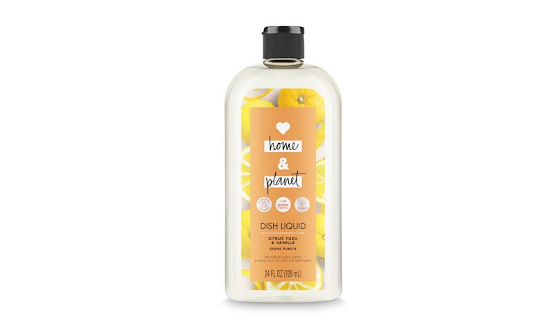Love Home & Planet Citrus Yuzu & Vanilla Dish Liquid