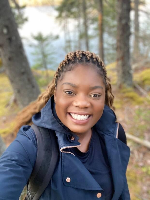 Unity Cooper was born and grew up in the Buduburam refugee camp near Accra, Ghana. She moved to Nova Scotia in 2005. (Unity Cooper - image credit)