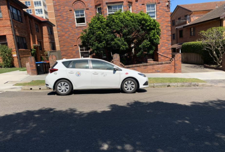 The parking in question. Source: Facebook