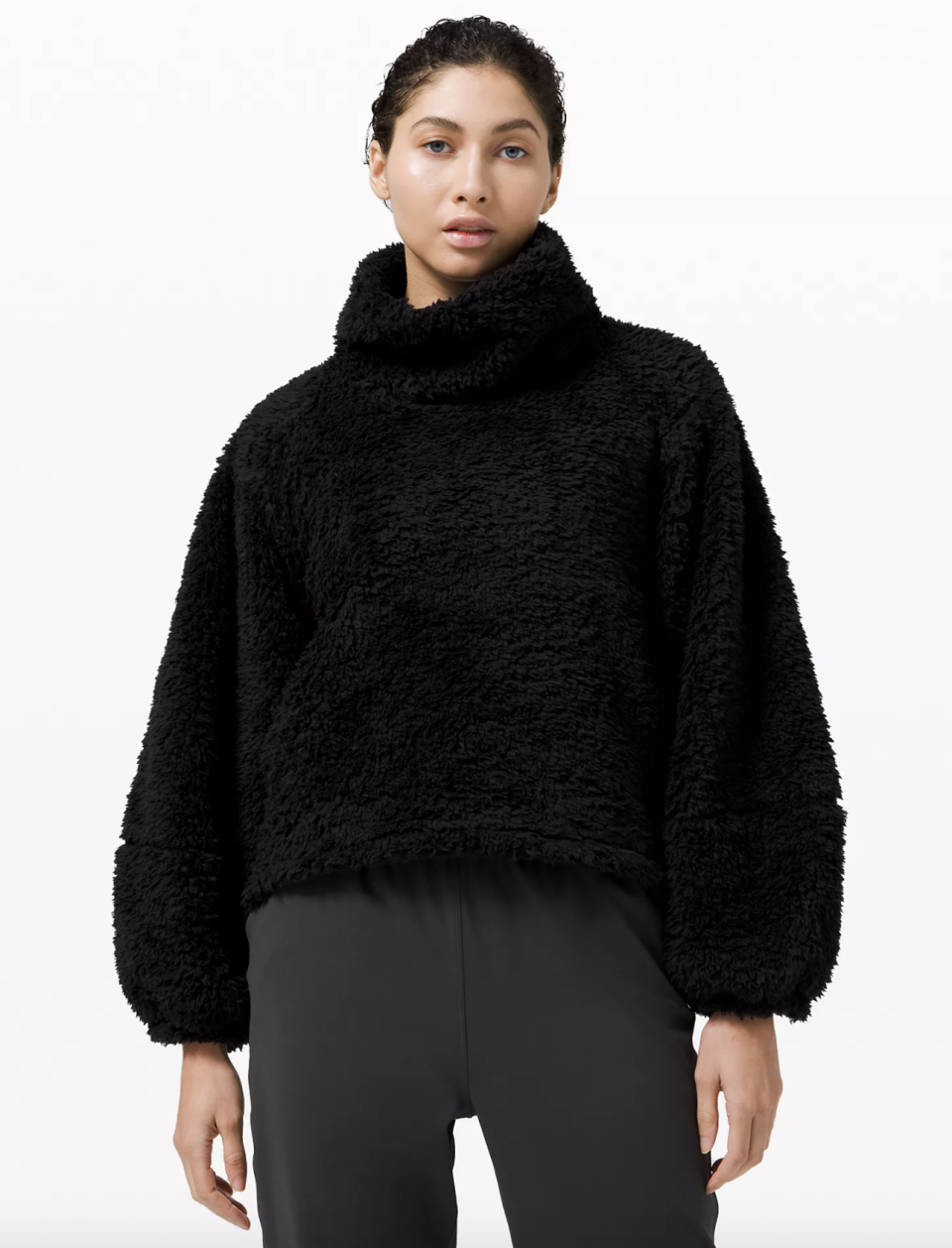 Warm Restore Sherpa Pullover - $69 (originally $154).