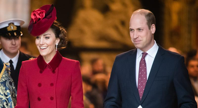 Kate Middleton and Prince William have urged people to stay safely at home as they celebrate Easter (Getty Images)