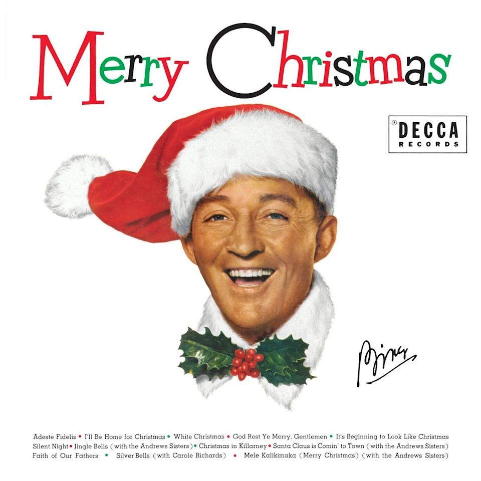 Bing Crosby White Christmas Record Biggest Male Icons