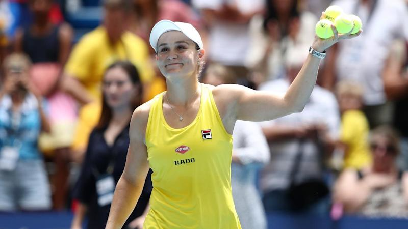Ashleigh Barty carries Australia's hopes, with the Fed Cup final against France locked up at 1-1