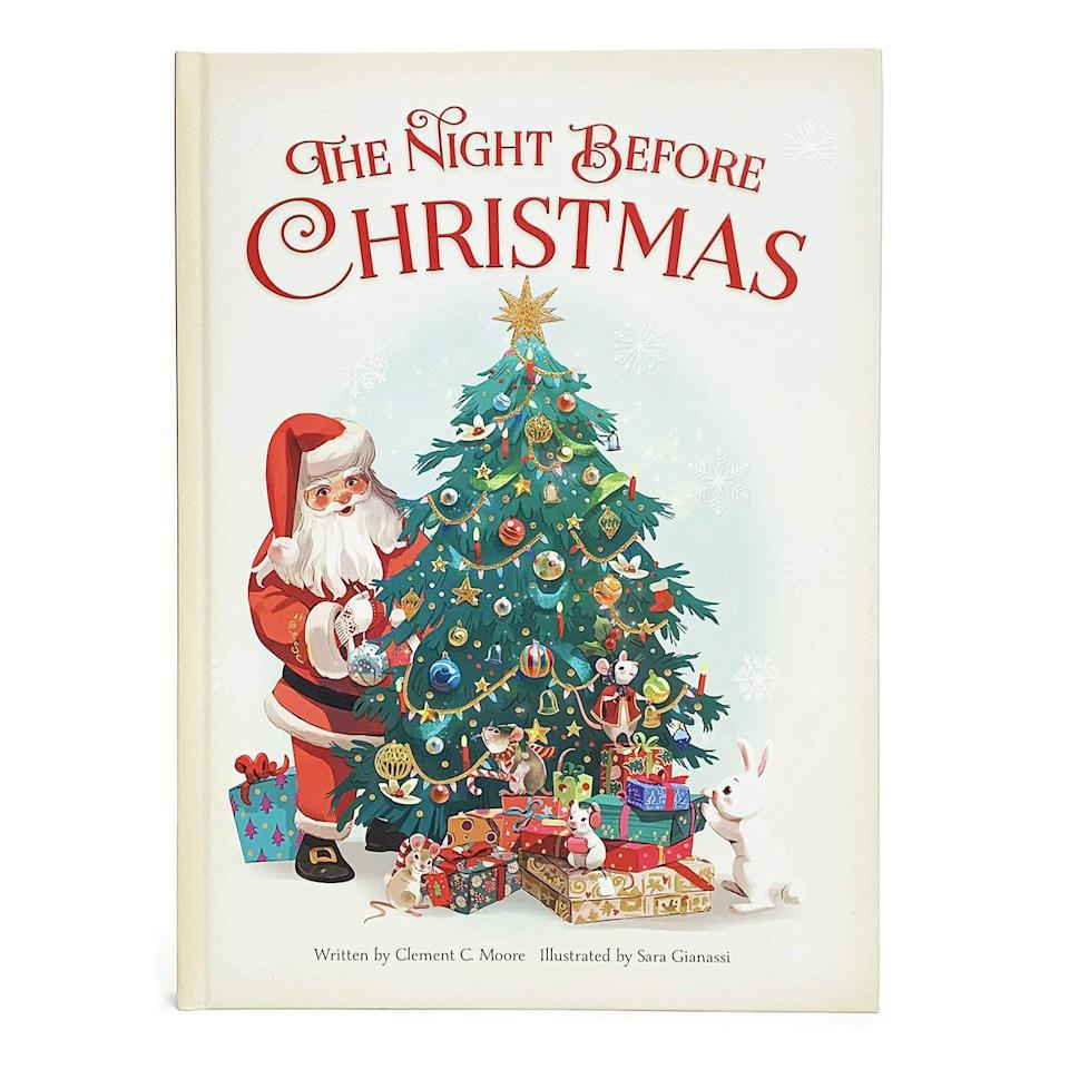 """<p>For a quiet way to enjoy the season, dig into a great <a href=""""https://www.oprahmag.com/entertainment/tv-movies/g28737773/best-christmas-books/"""" rel=""""nofollow noopener"""" target=""""_blank"""" data-ylk=""""slk:Christmas book"""" class=""""link rapid-noclick-resp"""">Christmas book</a>. You can all take turns reading a story aloud. Go for a classic like <a href=""""https://www.amazon.com/Nutcracker-Original-Holiday-Classic/dp/163158362X?tag=oprah-auto-20&ascsubtag=[artid