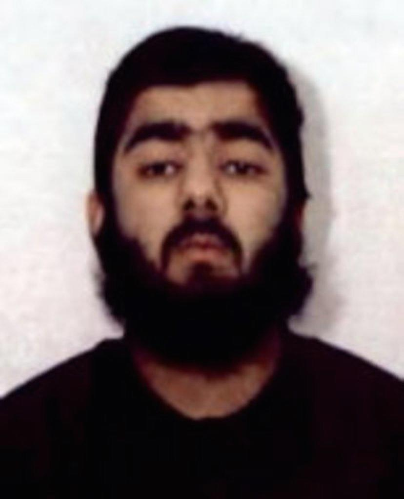 Usman Khan was shot dead by police after carrying out a terrorist attack at London Bridge on Friday (PA)