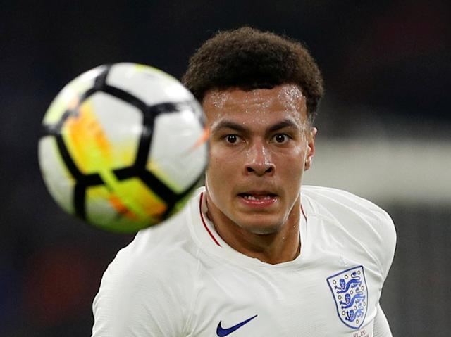 Soccer Football - International Friendly - Netherlands vs England - Johan Cruijff Arena, Amsterdam, Netherlands - March 23, 2018 England's Dele Alli Action Images via Reuters/John Sibley TPX IMAGES OF THE DAY