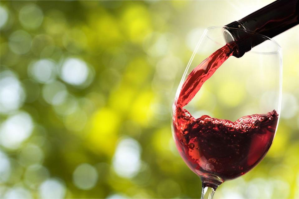 """<p>Wine's antioxidants are linked to lower cholesterol levels and healthier blood vessels—both of which improve heart health. And the wine compound resveratrol—more abundant in reds than in whites—has been shown to block the growth of fat cells, regulate blood sugar, and ward of depression. But drink in moderation: Women should enjoy no more than one alcoholic drink daily and men up to two. Check out these<a href=""""https://www.prevention.com/weight-loss/g23473697/lowest-calorie-alcohol/"""" rel=""""nofollow noopener"""" target=""""_blank"""" data-ylk=""""slk:low-calorie alcoholic drinks"""" class=""""link rapid-noclick-resp""""> low-calorie alcoholic drinks</a> for healthier options. </p>"""