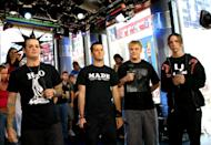 <p>Good Charlotte stopped by MTV Studios in NYC in 2006.</p>
