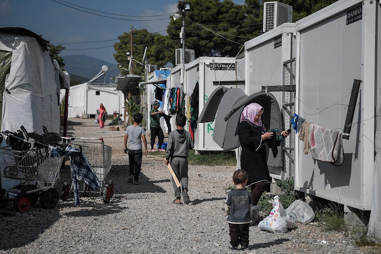 GREECE-EUROPE-MIGRANTS-CAMPS