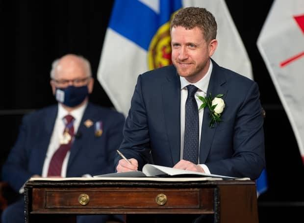 Iain Rankin was sworn in as Nova Scotia premier on Tuesday, replacing Stephen McNeil, who previously had been the longest-serving sitting premier in Canada.