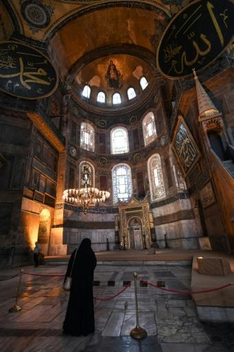 Erdogan's announcement came after the cancellation by a top court of a 1934 cabinet decision under modern Turkey's secularising founder Mustafa Kemal Ataturk to preserve the church-turned-mosque as a museum