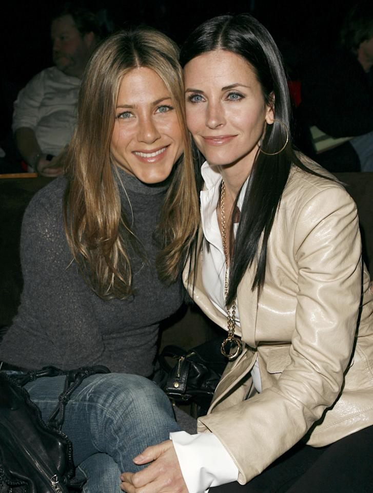 "Jennifer Aniston is ""begging"" Courteney Cox to ""get therapy,"" reveals Star. The magazine explains that Cox is driving Aniston ""crazy"" because she's ""calling eight times a day"" to talk about her issues with estranged husband David Arquette. For how Aniston plans to completely cut Cox off unless she gets help, click over to Gossip Cop.   http://www.gossipcop.com/jennifer-aniston-courteney-cox-therapy-counseling-david-arquette-christina-mclarty-phone-calls/"
