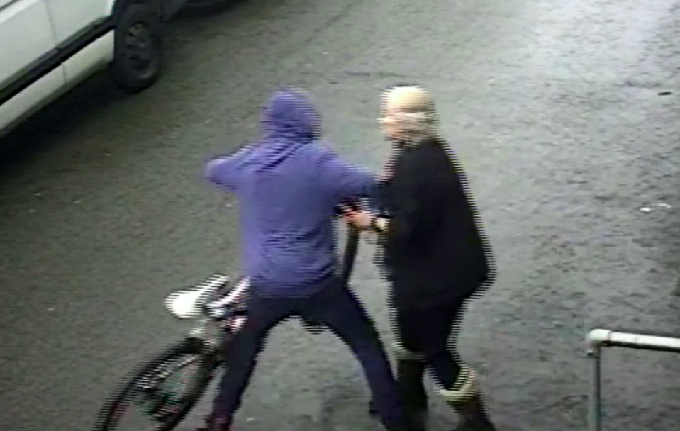 Mari Parker knew the bike had been stolen having read about its theft on Facebook (SWNS)