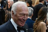 Christopher Plummer, seen here arriving at the 2018 Academy Awards ceremony, was a versatile Oscar-winning actor with a deep resume