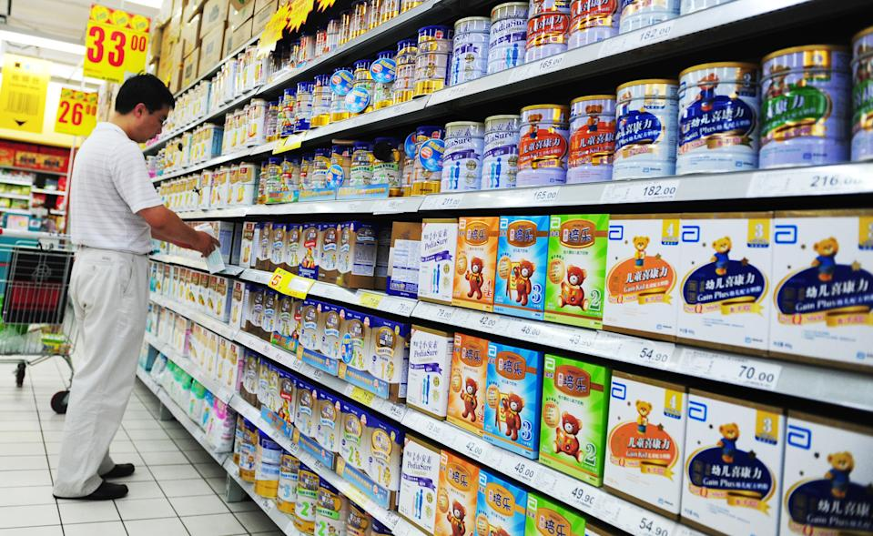 Chinese milk powder has struggled to rebuild its reputation following the 2008 melamine scandal. Source: Getty