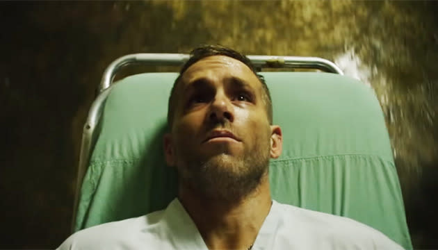 "<p>In the trailer for 'Deadpool' (released next year) we saw Ryan Wade Wilson wheeled in for surgery that will make him superhuman. His one request? ""Please don't make the super-suit green. Or animated."" The barb, directed at the despised 'Green Lantern' (which he starred in), couldn't be more clear.<br></p>"