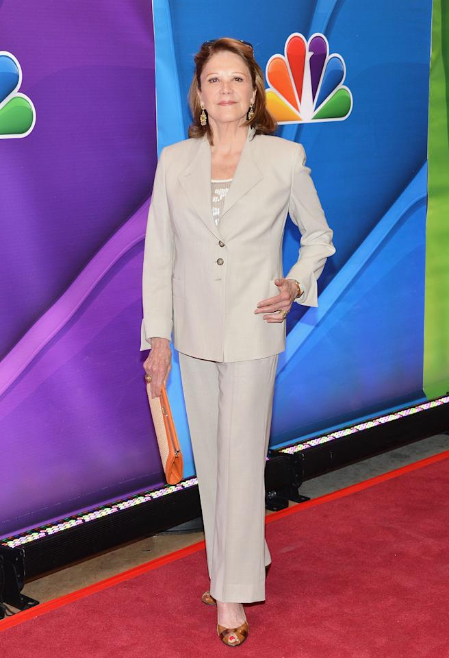 NEW YORK, NY - MAY 13:  Actress Linda Lavin attends 2013 NBC Upfront Presentation Red Carpet Event at Radio City Music Hall on May 13, 2013 in New York City.  (Photo by Slaven Vlasic/Getty Images)