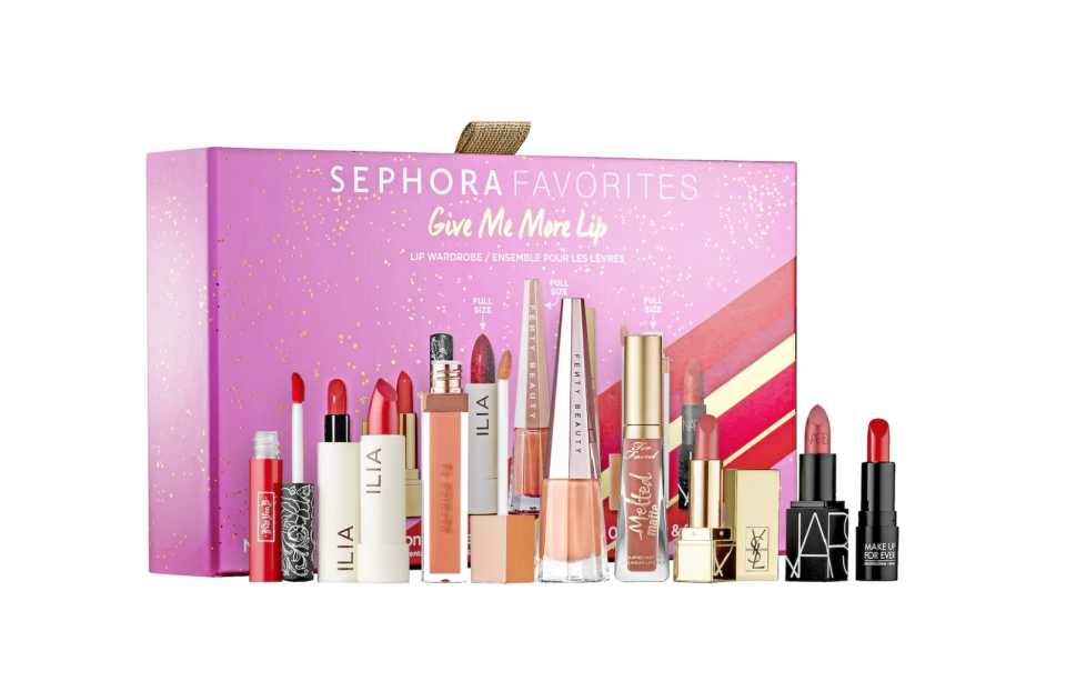 Sephora Favorites Give Me More Lip Lipstick Set. Image via Sephora.