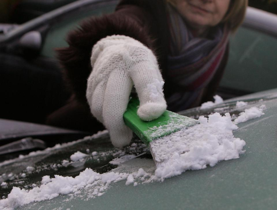 A cold snap means it's time to dig out the ice scraper (Tim Ockenden/PA Images via Getty Images)