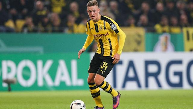 <p>Now, I know what you're thinking, the obvious choice to replace Dembélé is Christian Pulisic or Emre Mor, right?</p> <br><p>Well, in short, yes. However, we've all heard the argument for the already Dortmund first team players to get a more permanent run out in black and yellow next season. So with a position opening up with the senior side, 18-year-old <strong>Jacob Bruun Larsen</strong> is ready to make the step up.</p> <br><p>Although not strictly a product of the Borussia Dortmund academy, the young Danish winger left hometown side Lyngby in 2015 to move to the Signal Iduna Park. With an ability to play anywhere across the front three, Larsen has already made one appearance for the senior side in which he claimed an assist during a DFB-Pokal clash with Union Berlin.</p> <br><p>Whether you've heard his name before or not, a truly outstanding record of 20 goals and 13 assists in just 17 games with the Dortmund U19 squad last season tell you Larsen is one of Denmark's stars of tomorrow.</p>
