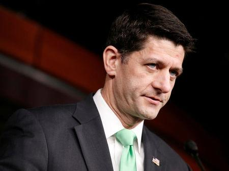FILE PHOTO --  Speaker of the House Paul Ryan (R-WI) speaks to the media on Capitol Hill in Washington
