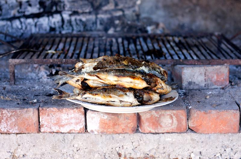Get used to eating grilled fish - getty