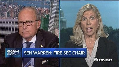 Sen. Warren's move on the SEC a bad thing, former SEC commissioner says