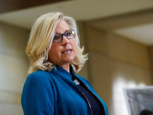 Liz Cheney is one of a group of Republicans who received a record donations following their vote to impeach former president Donald Trump (Getty Images)