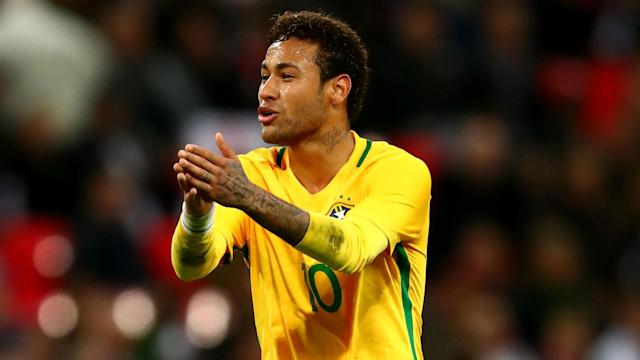 Brazil hope the PSG superstar will be back from injury for their friendly against the European nation at Anfield