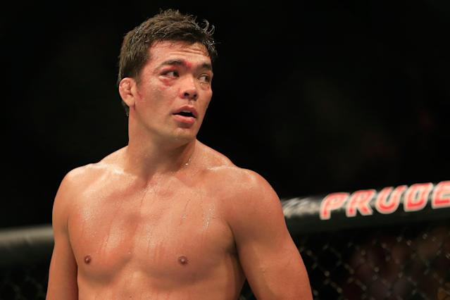 Lyoto Machida will make his long-awaited return to the Octagon on Saturday against Derek Brunson. (Getty)