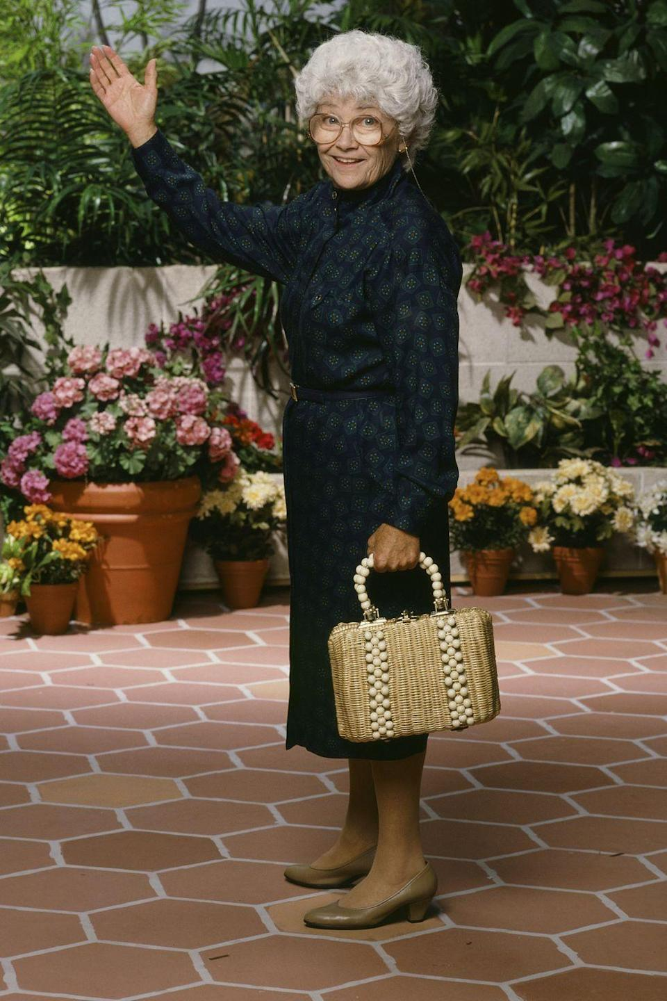 <p><em>The Golden Girls</em> were possibly the biggest fan of wicker bags and were, in part, responsible for their widespread popularity. </p>