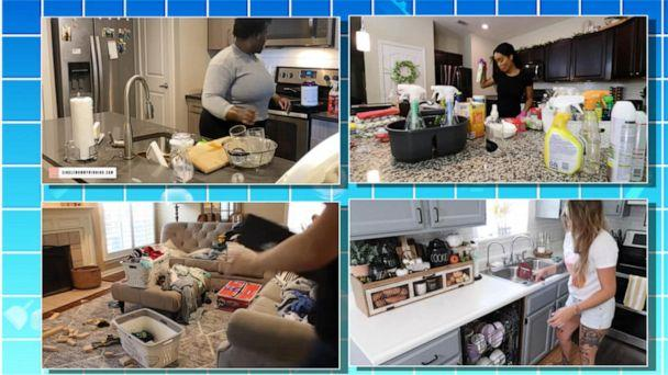 PHOTO: YouTubers who share motivational cleaning videos have become popular for their content on social media. (ABC News)