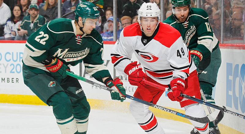 Canes acquire Niederreiter from Wild, trade Rask