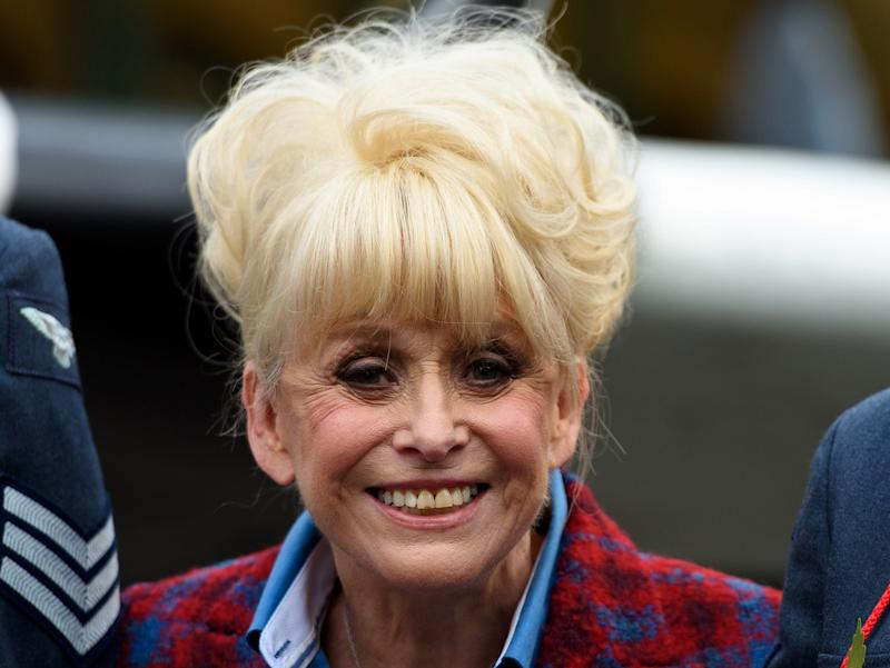 Dame Barbara Windsor made her début in EastEnders as Peggy Mitchell in 1994: Getty