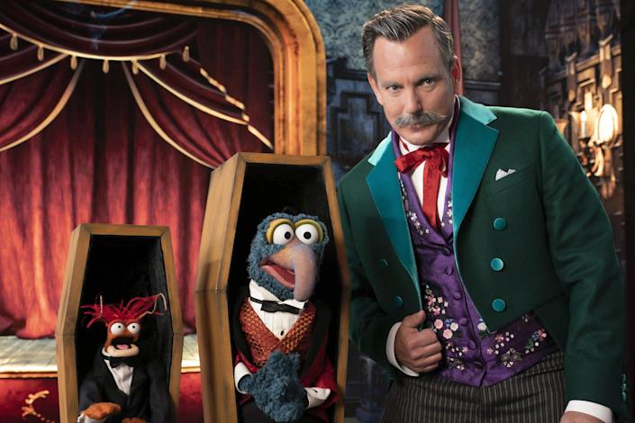 Disney's Muppets Haunted Mansion Halloween Special Is Coming to Disney+ in October!