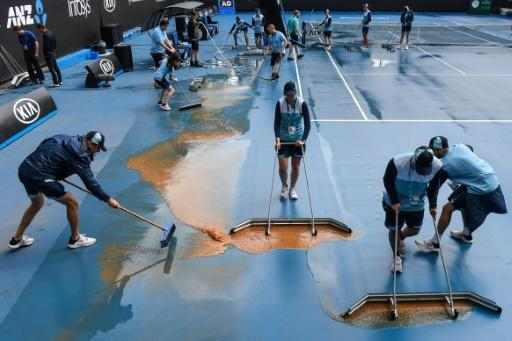 The Australian Open tennis was hit with everything from pollution to fierce temperatures and heavy rain